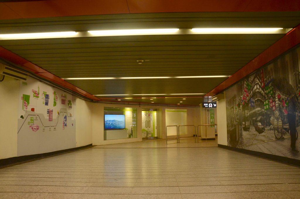 Exit J, Central Station